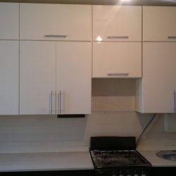 Белые фасады для кухни из МДФ