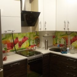 кухоннные фасады из шпона