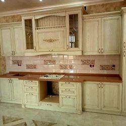 Кухня из массива древа
