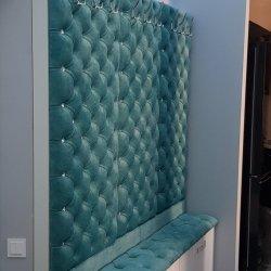 Мебель для прихожей с каретной стяжкой