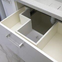 Ящик под раковину в ванной комнате