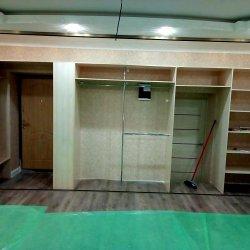 Внутри шкафа спрятаны 2 двери: входная и межкомнатная