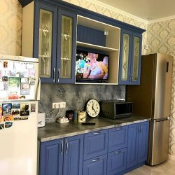 Синяя кухня МДФ, комплект №2