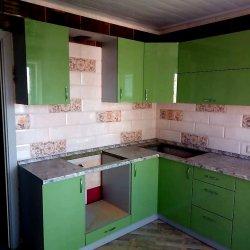 Кухонные шкафы с нишами для техники и мойки