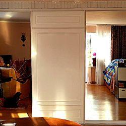 Раздвижные двери для встроенного шкафа