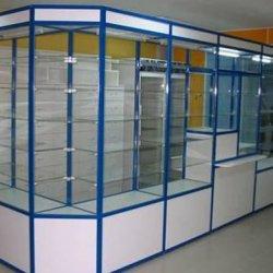 Шкафы-витрины стеклянные
