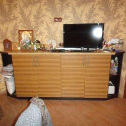 Кухонный шкаф из шпона