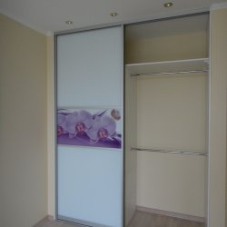 Наполнение шкафа, фасад с фотопечатю