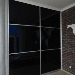 Встроенная гардеробная в стиле Лофт(фасад)