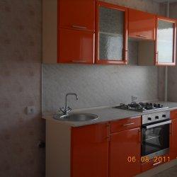Кухня пленочный МДФ ораньжевая