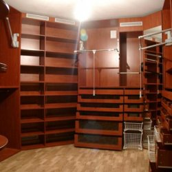 Гарддеробная комната на заказ