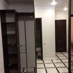 Гардеробная с зеркальными дверями-купе (2)
