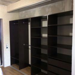 Большой встроеный шкаф-купе