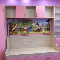 Мебель в комнату девочки на заказ 4