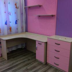 Мебель в комнату девочки на заказ 3