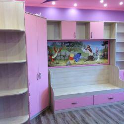 Мебель в комнату девочки 1