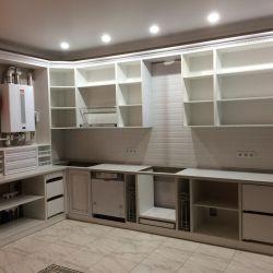 Внутренняя конфигурация кухонных шкафов