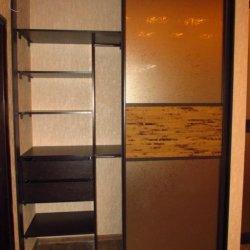 Встроенный шкаф-купе в прихожей 2