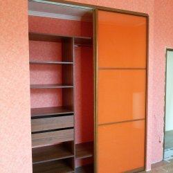Встроенный шкаф-купе с пленкой Оракал 2
