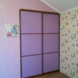 Фиолетовый шкаф-купе