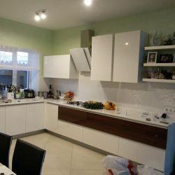 Белая кухня МДФ крашеный