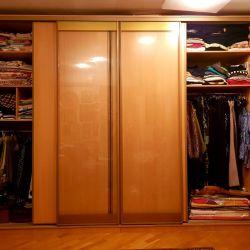 Плательный и книжный комбинированный шкаф-купе