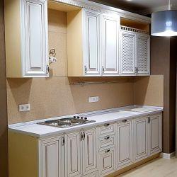 Монтаж встроенной кухни