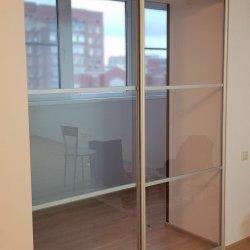 Раздвижная перегородка, вид из квартиры