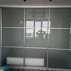 Квадратные вставки из матового стекла