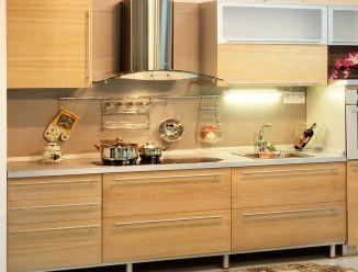 Кухня пленочный МДФ современный стиль