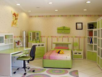 Комплект детской мебели с туалетным столиком