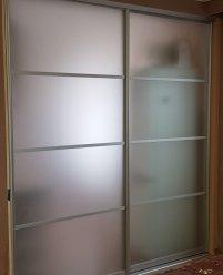2-дверная раздвижная перегородка для кухни