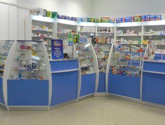 Торговая мебель для аптеки