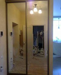 Встроенный шкаф-купе Зеркальный
