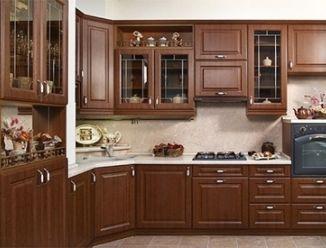 Кухня из МДФ классика под массив