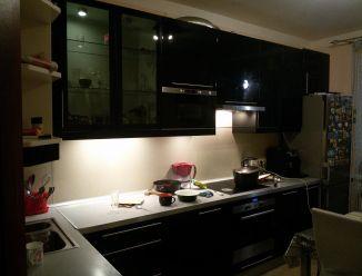Черная кухня из МДФ