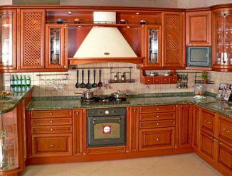 Кухня угловая встроенная