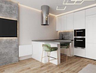 Кухня для квартиры-студии (проект)