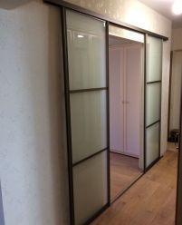 Раздвижные двери для зала двухстворчатые