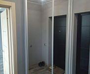 Зеркальный двухдверный шкаф купе для прихожей